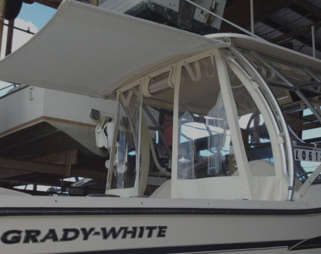 Grady White – Blue Water Canvas & Upholstery of Pompano Beach